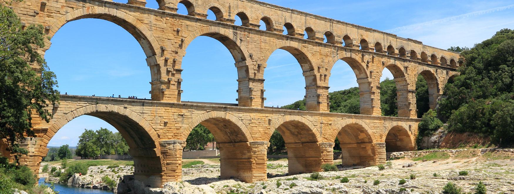 Excursión a Uzès, el Puente del Gard y Aviñón